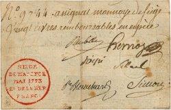 20 Livres FRANCE  1793 Kol.013 aVF