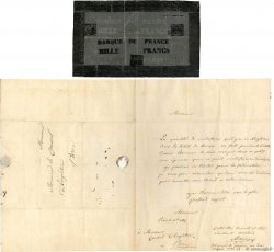 1000 Francs FRANCE  1835 -- XF