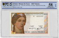 300 Francs FRANCE  1939 F.29.03 aAU