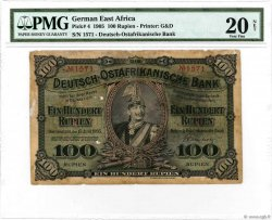 100 Rupien GERMAN EAST AFRICA  1905 P.04 G