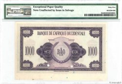1000 Francs Spécimen FRENCH WEST AFRICA (1895-1958)  1942 P.32s UNC