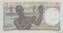 5 Francs FRENCH WEST AFRICA (1895-1958)  1950 P.36 UNC
