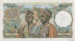 5000 Francs AFRIQUE OCCIDENTALE FRANÇAISE (1895-1958)  1950 P.43 SPL+