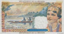 20 NF sur 1000 Francs Union Française REUNION ISLAND  1967 P.55s AU