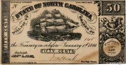 50 Cents Faux UNITED STATES OF AMERICA Raleigh 1863 PS.2363 AU
