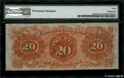 20 Dollars UNITED STATES OF AMERICA Wilmington 1861  aXF