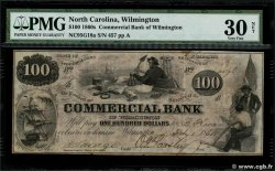 100 Dollars ÉTATS-UNIS DAMÉRIQUE Wilmington 1861  TTB