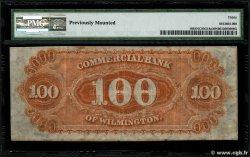 100 Dollars VEREINIGTE STAATEN VON AMERIKA Wilmington 1861  SS