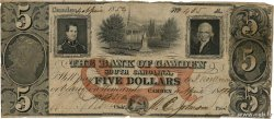 5 Dollars UNITED STATES OF AMERICA Camden 1854  F