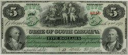 5 Dollars  UNITED STATES OF AMERICA Columbia 1872 PS.3323 UNC-