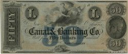 50 Dollars Non émis UNITED STATES OF AMERICA New Orleans 1850  UNC