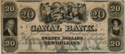 20 Dollars Non émis UNITED STATES OF AMERICA New Orleans 1850  XF