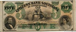 5 Dollars Non émis UNITED STATES OF AMERICA Shreveport 1850  UNC-