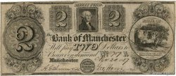 2 Dollars Annulé UNITED STATES OF AMERICA Manchester 1837  G