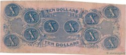 10 Dollars CONFEDERATE STATES OF AMERICA  1862 P.52c F