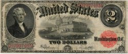 2 Dollars UNITED STATES OF AMERICA  1917 P.188 F+