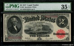 2 Dollars UNITED STATES OF AMERICA  1917 P.188 VF+