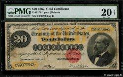 20 Dollars ÉTATS-UNIS DAMÉRIQUE  1882 P.259b TB