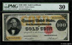 100 Dollars ÉTATS-UNIS DAMÉRIQUE  1882 P.260b TB+