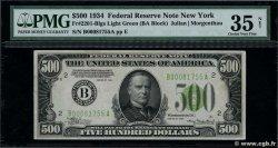 500 Dollars UNITED STATES OF AMERICA New York 1934 P.434 aXF