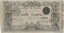 1000 Francs type 1842 définitif FRANCE  1851 F.A18.10 TTB