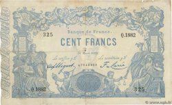 100 Francs type 1862 Indices Noirs  FRANCE  1882 F.A39.18 F+