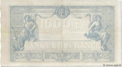 1000 Francs type 1862 Indices Noirs FRANCIA  1874 F.A41.09 MBC