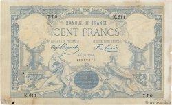 100 Francs type 1882 FRANCE  1884 F.A48.04 VF