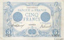5 Francs BLEU FRANCE  1916 F.02.35 XF
