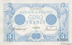 5 Francs BLEU FRANCE  1916 F.02.36 SUP+