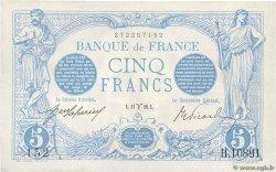 5 Francs BLEU FRANCE  1916 F.02.37 XF+