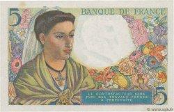 5 Francs BERGER FRANCE  1943 F.05.01 SUP+