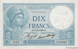 10 Francs MINERVE FRANCE  1936 F.06.17 XF+