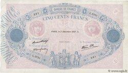 500 Francs BLEU ET ROSE modifié FRANCIA  1937 F.31.04 BB
