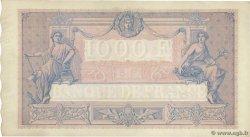 1000 Francs BLEU ET ROSE FRANCIA  1892 F.36.04 EBC