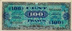 100 Francs DRAPEAU FRANKREICH  1944 VF.20.03 VZ
