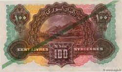 100 Livres Syriennes LEBANON  1939 P.14a aXF