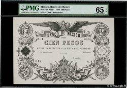 100 Pesos MEXIQUE  1866 P.009r pr.NEUF