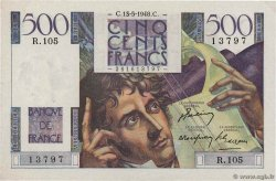 500 Francs CHATEAUBRIAND  FRANCE  1948 F.34.08 SUP