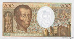 200 Francs MONTESQUIEU  FRANCE  1990 F.70.10b NEUF