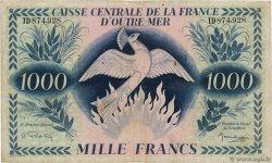 1000 Francs Phénix AFRIQUE ÉQUATORIALE FRANÇAISE  1944 P.19a TB