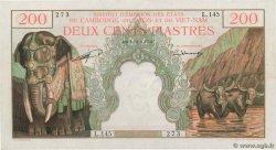 200 Piastres - 200 Dong INDOCHINE FRANÇAISE  1953 P.098 SPL