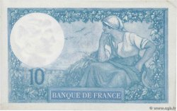 10 Francs MINERVE  FRANCE  1918 F.06.03 SPL+