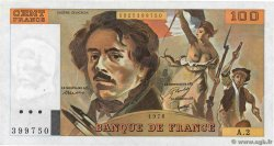 100 Francs DELACROIX FRANCE  1978 F.68.02 SUP+