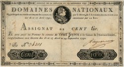 100 Livres FRANCE  1790 Ass.09a TB