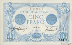 5 Francs BLEU FRANCE  1915 F.02.28 SPL