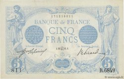 5 Francs BLEU FRANCE  1915 F.02.29 SUP