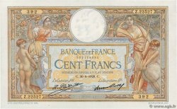 100 Francs LUC OLIVIER MERSON grands cartouches FRANCE  1928 F.24.07 SPL
