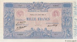 1000 Francs BLEU ET ROSE FRANCE  1926 F.36.43 SPL