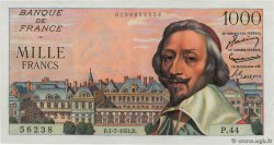 1000 Francs RICHELIEU FRANCE  1954 F.42.06 NEUF